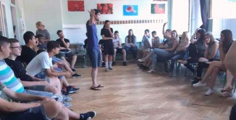 HLP: Fórumszínházi workshop középiskolásoknak
